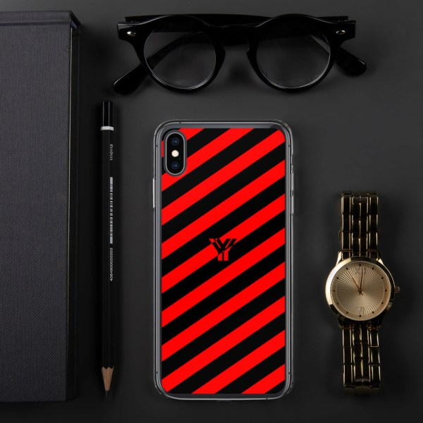 Antony Yorck • IPhone Hülle black and red • Collection OBVIOUS 30 mockup 9839f7bf