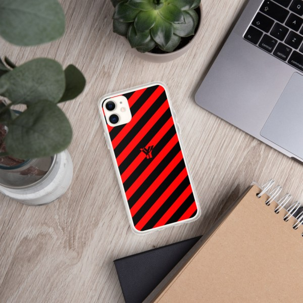 Antony Yorck • IPhone Hülle black and red • Collection OBVIOUS 2 mockup a196bf2d