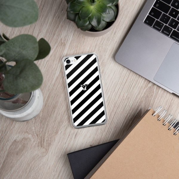 Antony Yorck • IPhone Hülle white and black • Collection OBVIOUS 20 mockup b2e2a3df