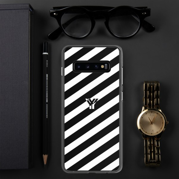 antony yorck accessoire samsung phone cases stripes black and white collection obvious 033