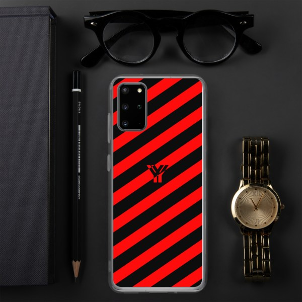 antony yorck accessoire samsung phone cases stripes black and red collection obvious 024