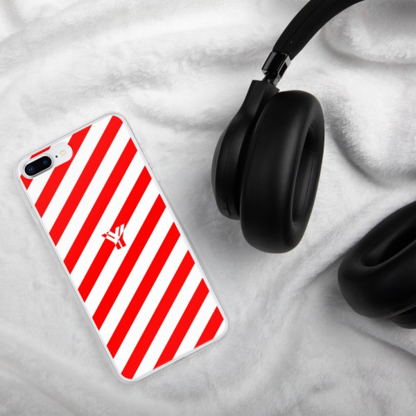 Antony Yorck • IPhone Hülle white and red • Collection OBVIOUS 16 mockup c890a9c4