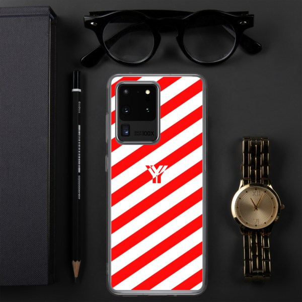antony yorck accessoire samsung phone cases stripes white and red collection obvious 021