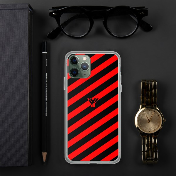 Antony Yorck • IPhone Hülle black and red • Collection OBVIOUS 3 mockup dc6beb2e