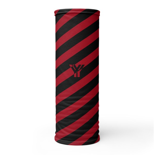 Antony Yorck • Multifunktionstuch cherry schwarz schräg gestreift • collection OBVIOUS 1 antony yorck multifunktionstuch cherry weiss gestreift schlauchschal streetwear 0014
