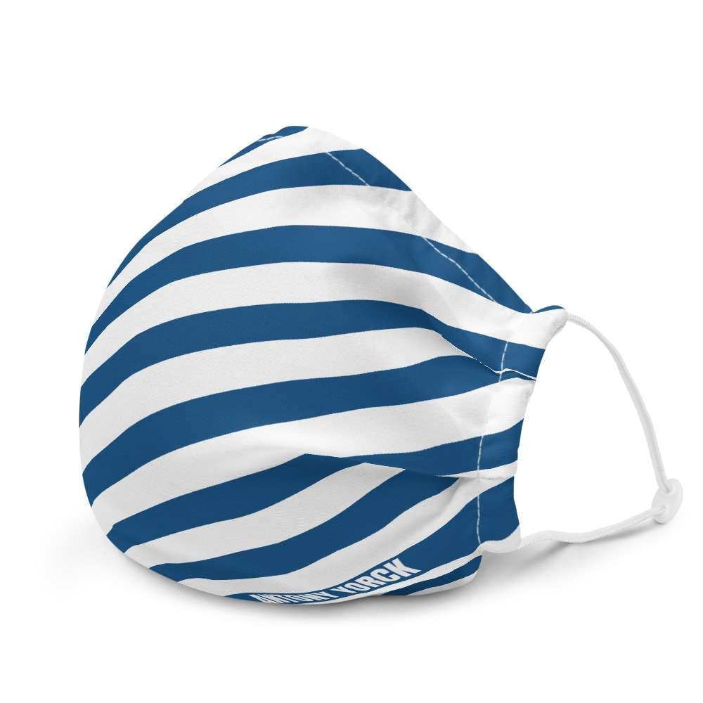 ANTONY YORCK • LUXURY URBAN STREETWEAR FASHION ACCESSORIES • ONLINE SHOP 9 antony yorck designer mund nasen maske gesichtsmaske microfaser verstellbar blau weiss 0010
