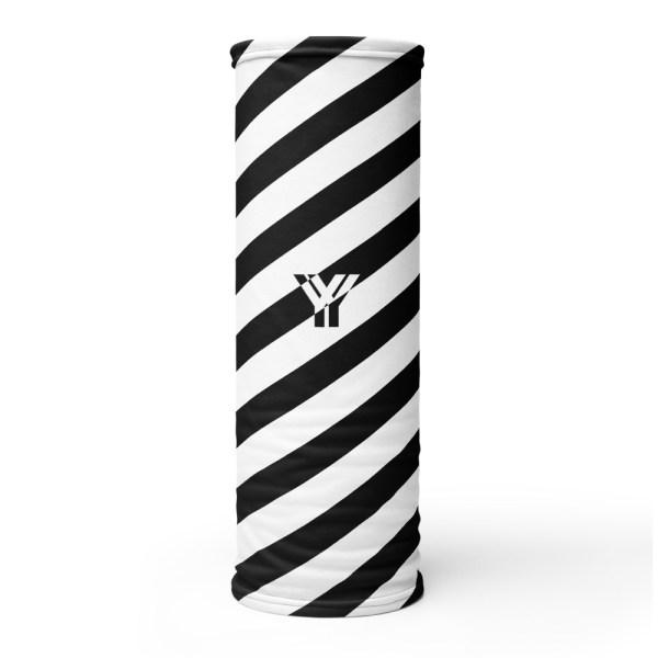 Antony Yorck • Multifunktionstuch schwarz weiß schräg gestreift • collection OBVIOUS 1 antony yorck multifunktionstuch schwarz weiss gestreift schlauchtuch 0014