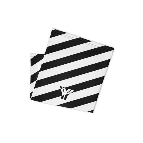 Antony Yorck • Multifunktionstuch schwarz weiß schräg gestreift • collection OBVIOUS 2 antony yorck multifunktionstuch schwarz weiss gestreift schlauchtuch 0034