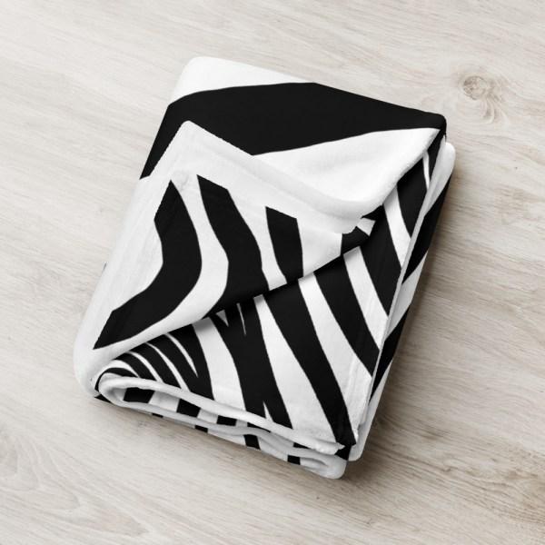 DECKE ZEBRA 6 sofa decke kuscheldecke zebra 03