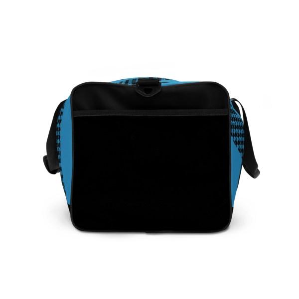 sporttasche trainingstasche houndstooth logo blue left view