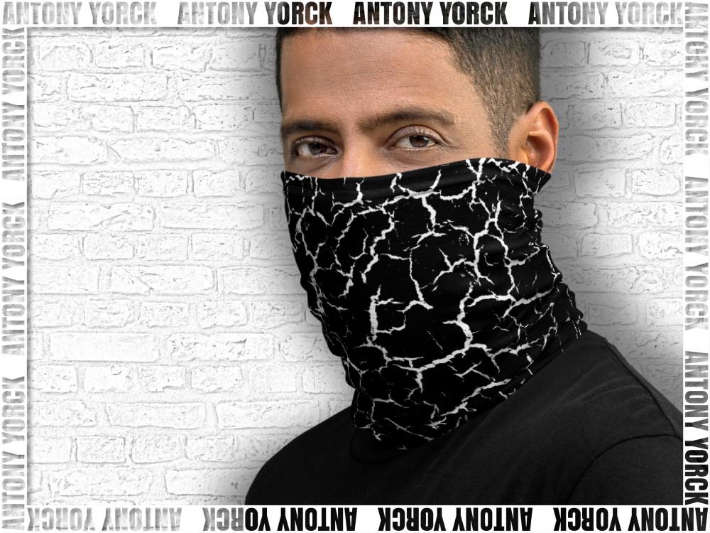 ANTONY YORCK • LUXURY URBAN STREET STYLE • ONLINE BOUTIQUE 6 neck gaiter craquelee Facebook Shop Kollektion 3 4