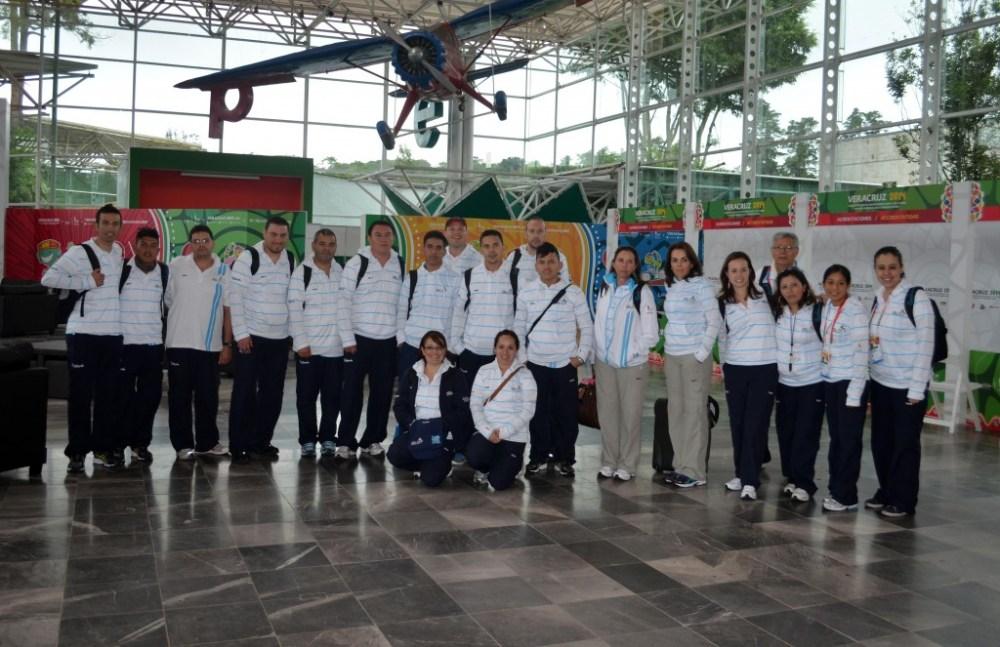 Delegaciones de Tenis de mesa, ecuestres y ciclismo