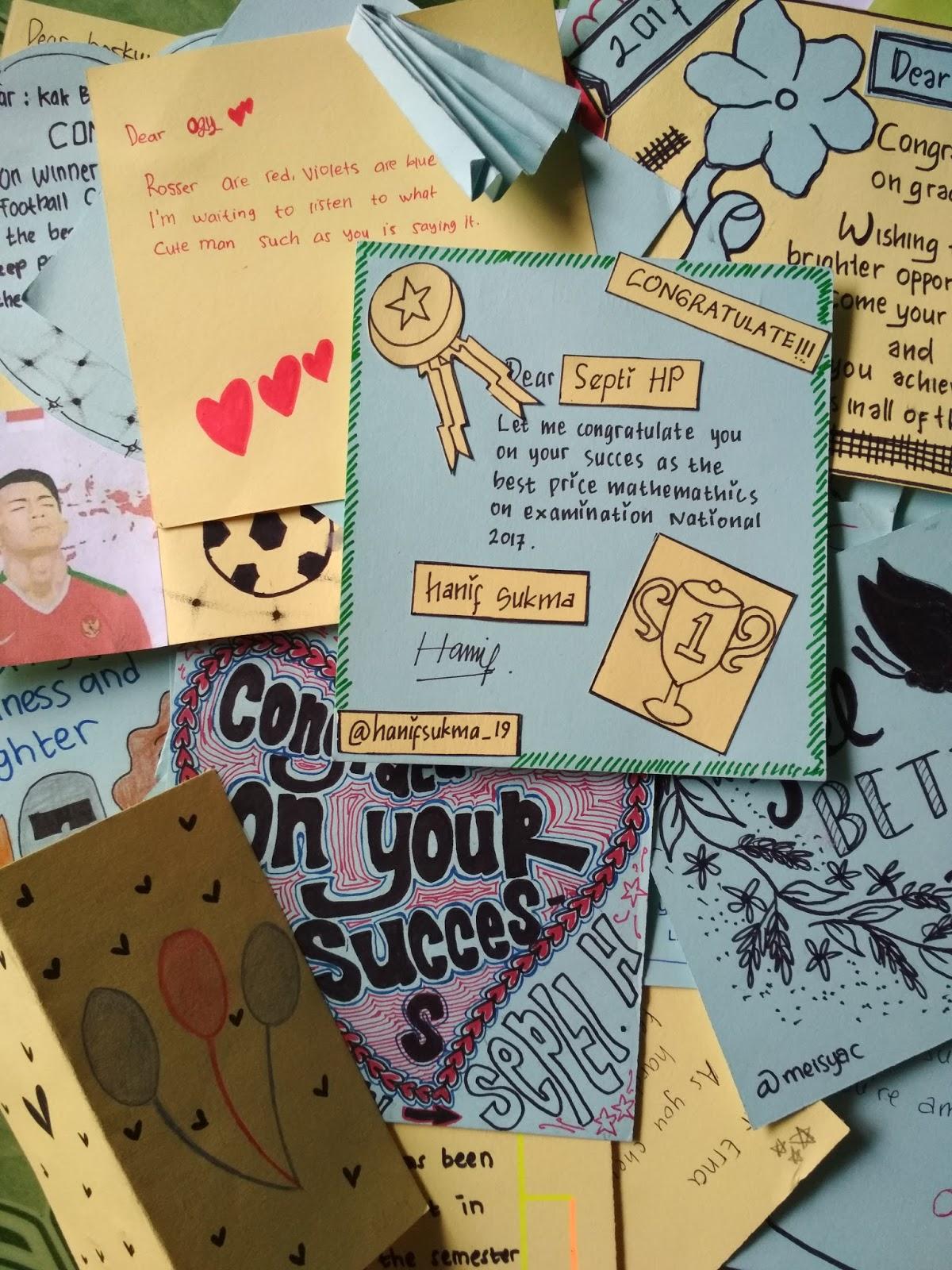 Kartu Ucapan Bahasa Inggris : kartu, ucapan, bahasa, inggris, Contoh, Congratulation, (Kartu, Ucapan, Selamat, Dalam, Bahasa, Inggris), Tunggal