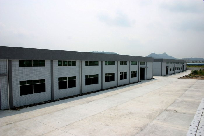Outside of the Huizhou facilities