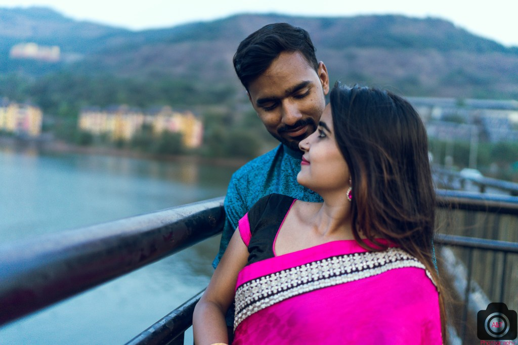 Pravin-Sweety Cinematic Pre-wedding Photoshoot in Lavasa-Pune-India