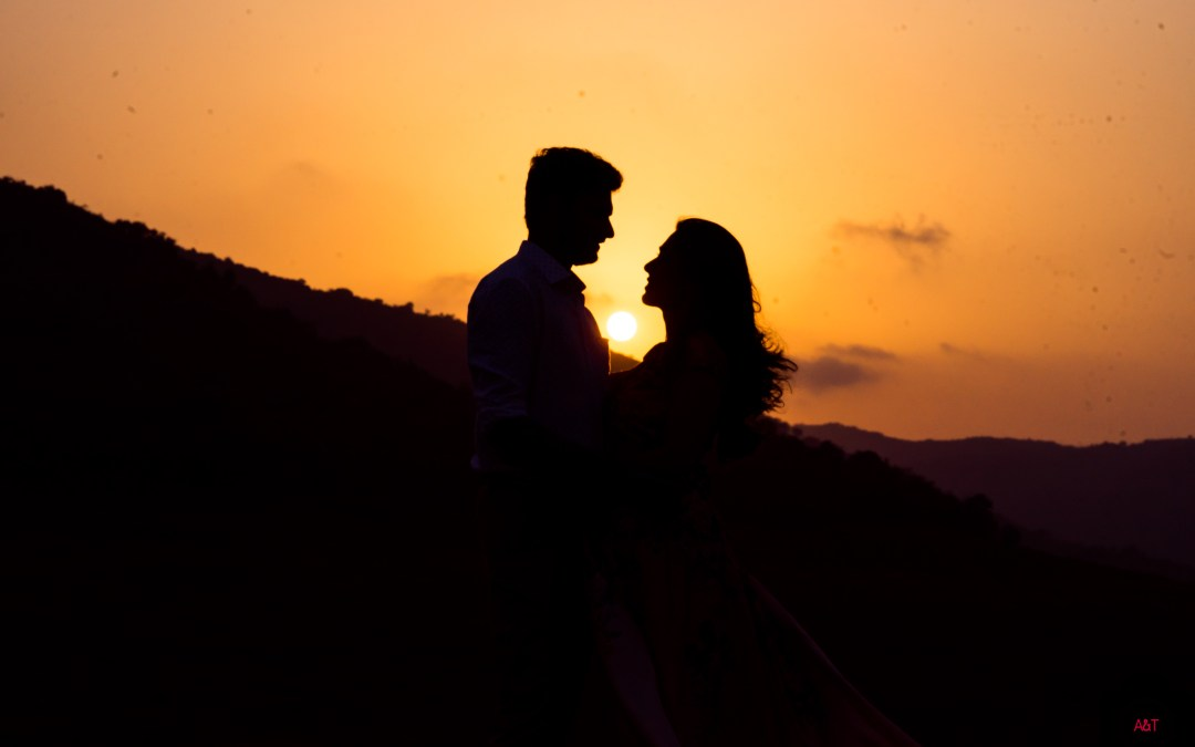 Prathmesh & Swarnima's Pre wedding Photoshoot at Lavasa, Pune.