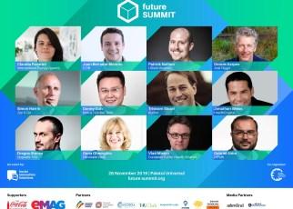 Viitorul vine la București în 28 noiembrie. Peste 25 de speakeri internaționali și români vin la Future Summit 2019