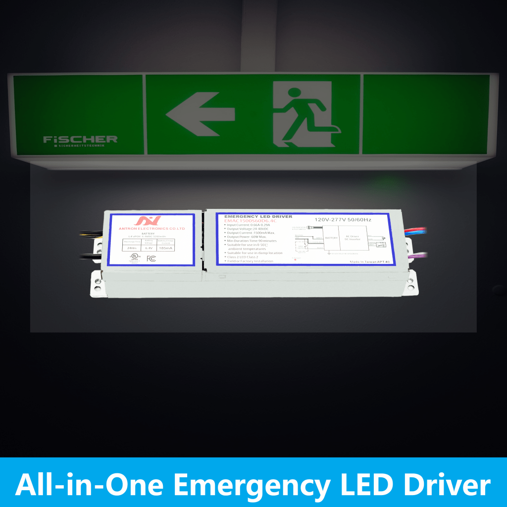 All-in-one Emergence LED Driver