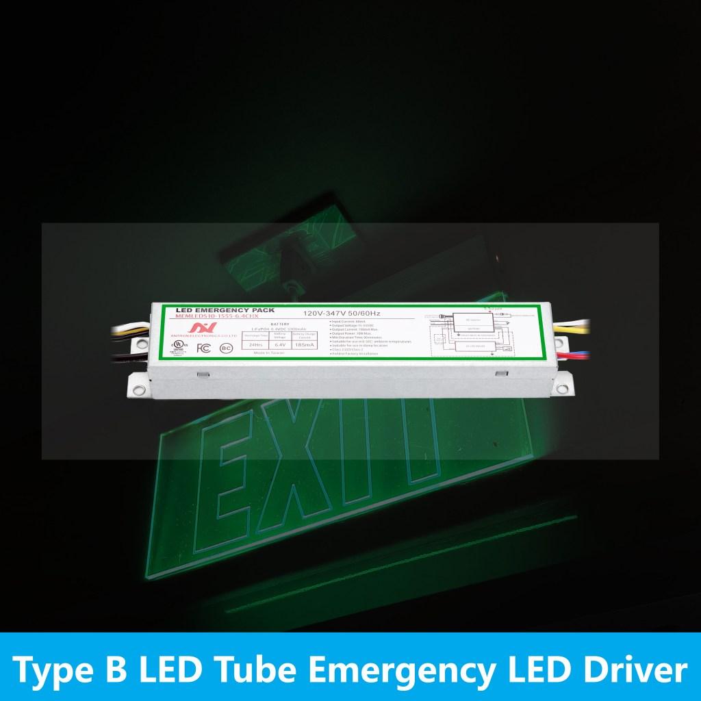 Type B LED Tube Emergency LED pack