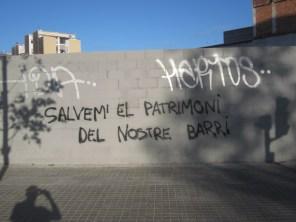 Los mensajes en los muros pueden convertir un no-lugar en un elemento de comunicación popular.