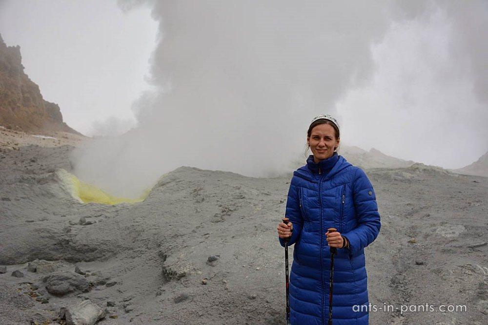Мутновский вулкан. Фуморолы