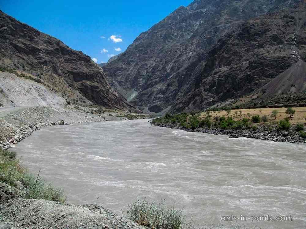 Памир. Река Пяндж