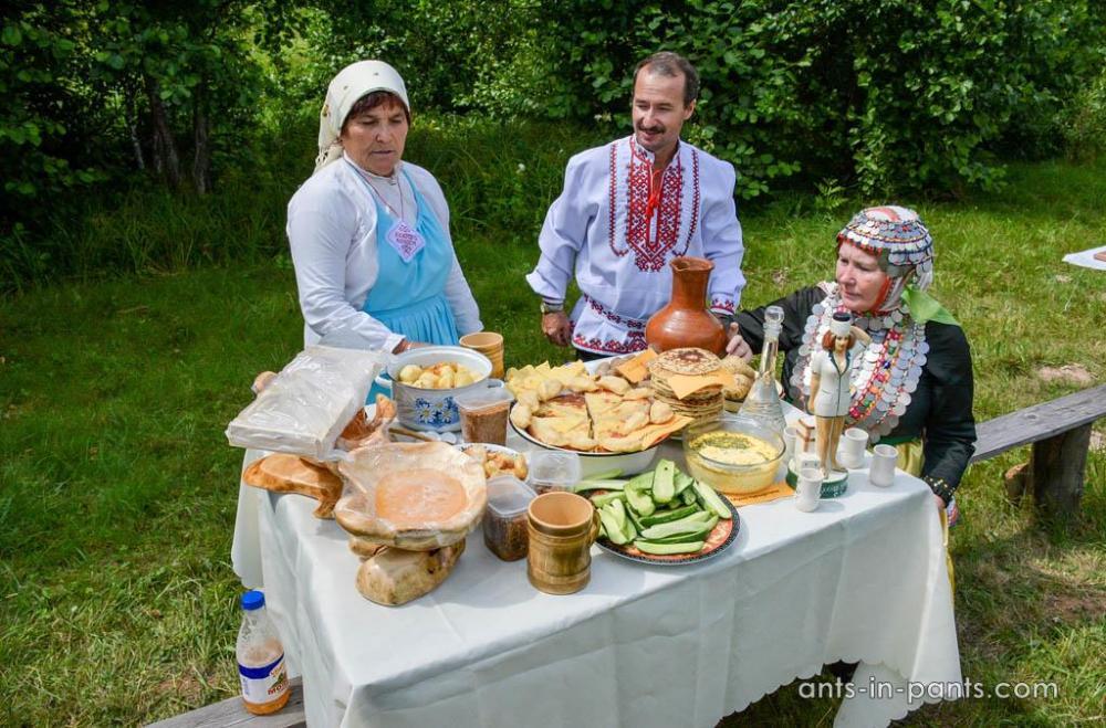 Mari traditional cuisine