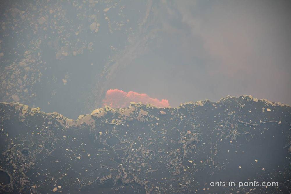 lava in Masaya volcano