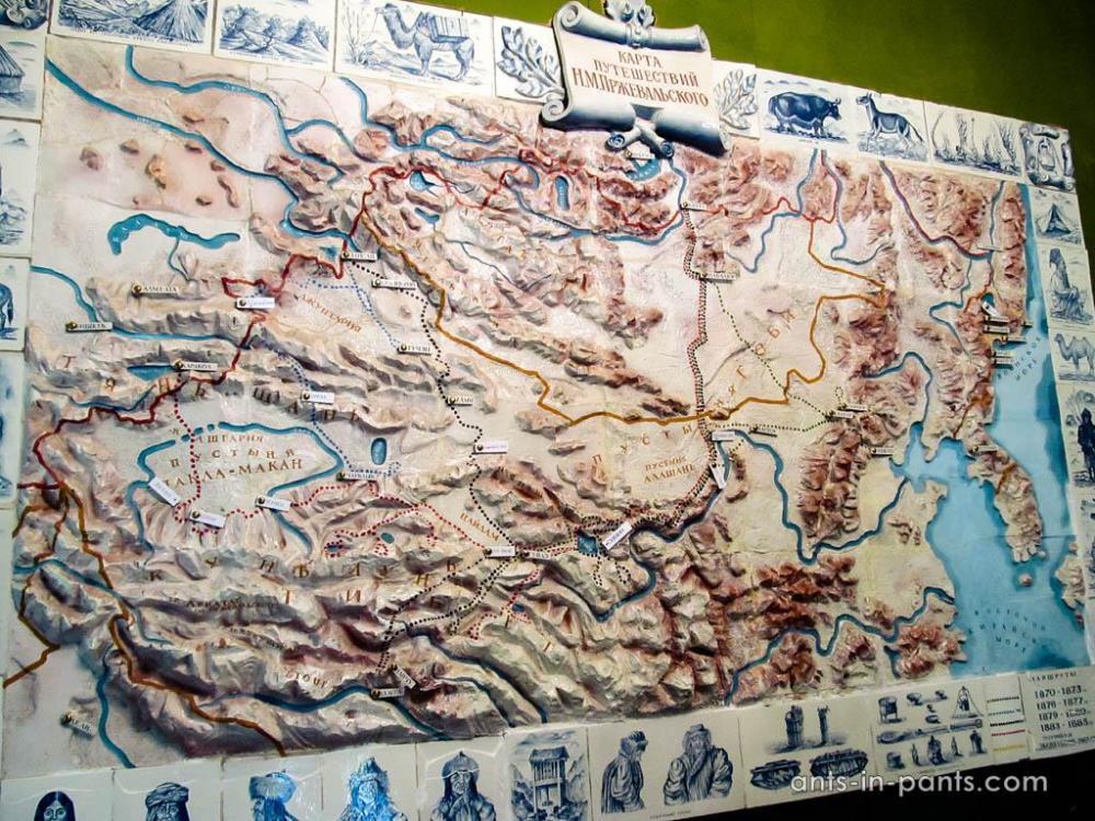 маршруты Пржевальского
