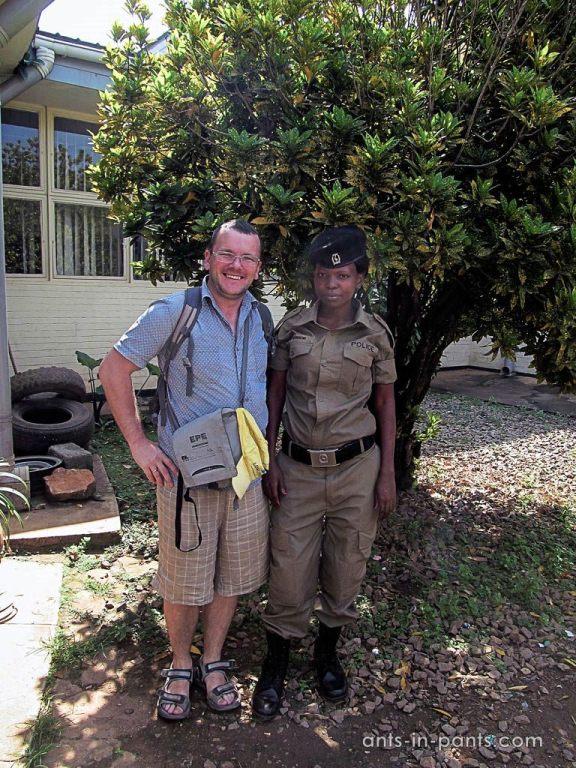 Полицейские в Африке