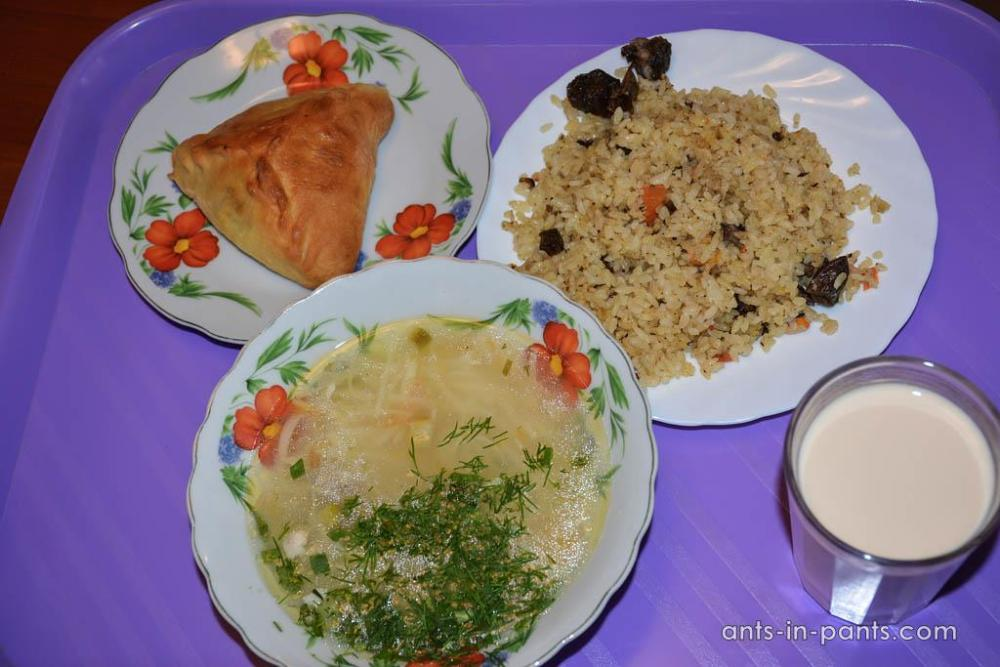 authentic Tatar food