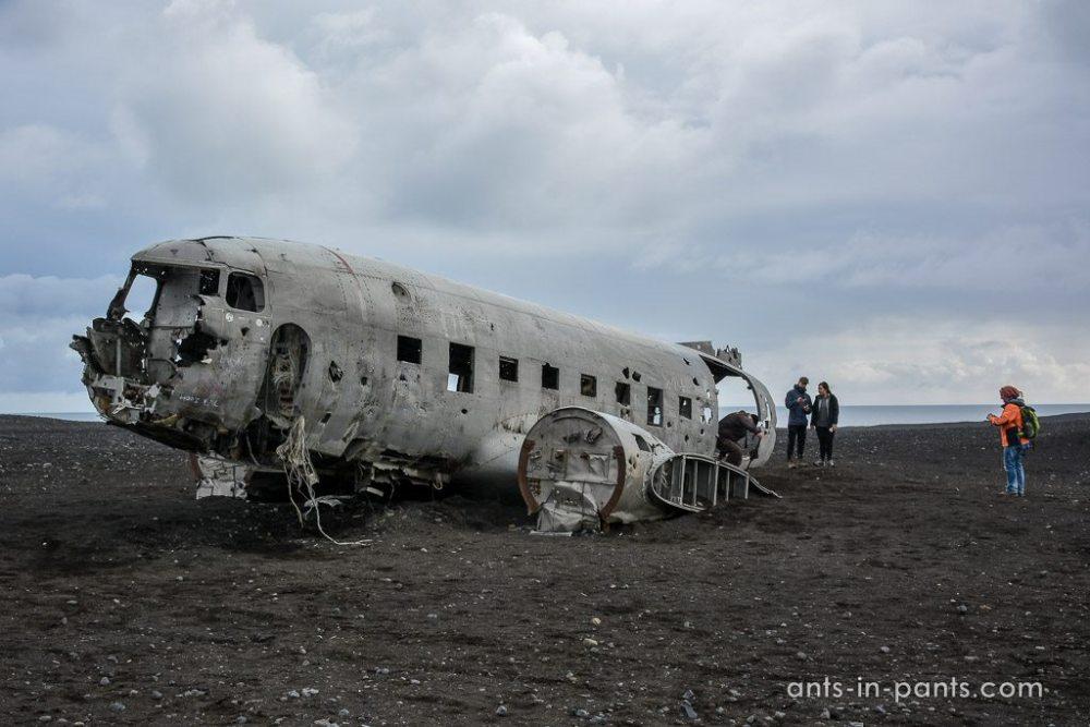 место крушения самолета американских ВВС