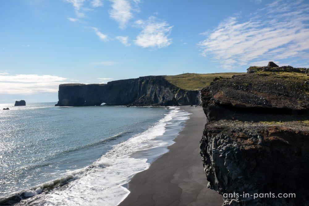 Dyrhólaey cliffs