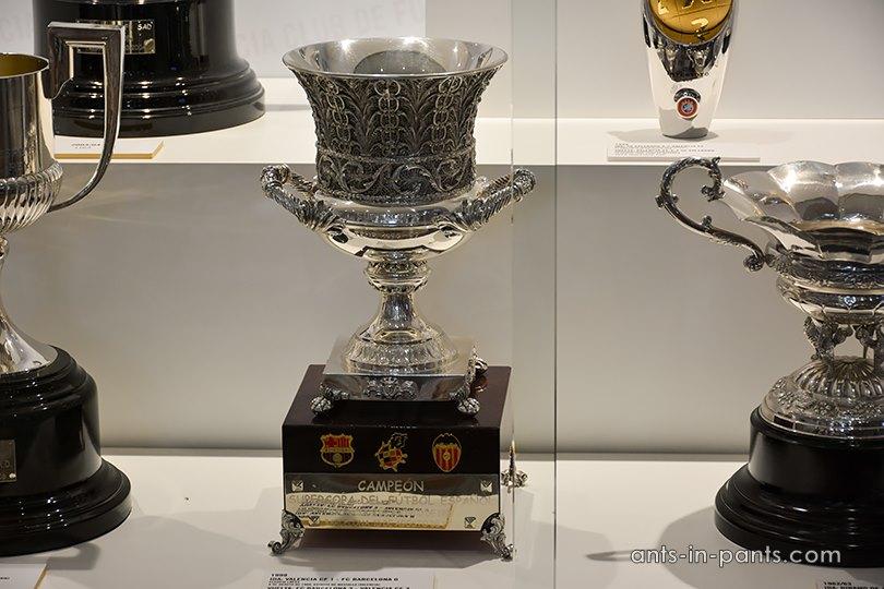 трофеи футбольного клуба Валенсия