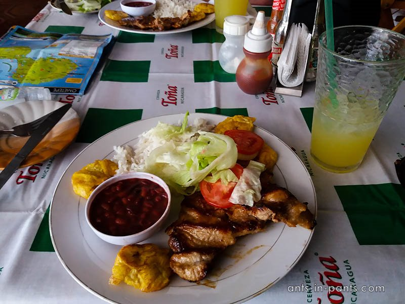 food on Ometepe
