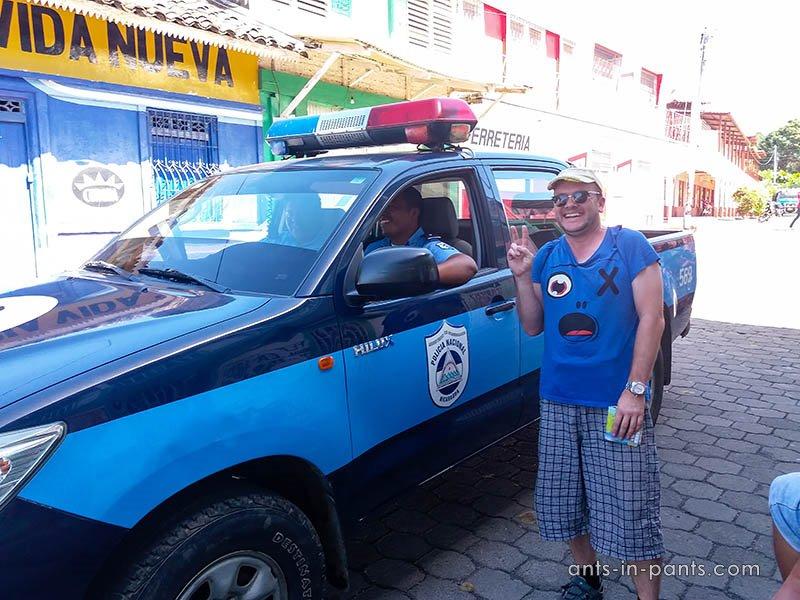 Nicaraguan police
