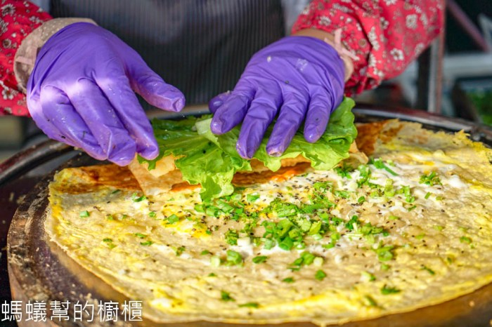 齊魯山東雜糧煎餅果子   彰化終於也買的到煎餅果子!中式可麗餅的魅力,鹹香口感酥脆。