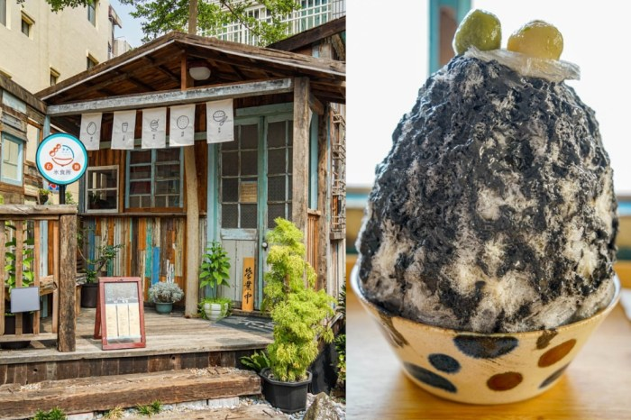石對氷食所 | 樸實復古調木屋,特色刨冰、飯食、燒餅,彰化市特色小店。