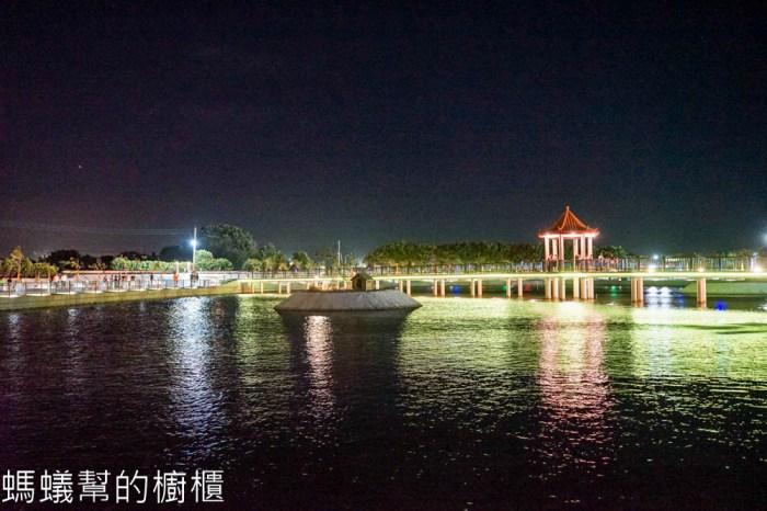 彰化二林新去處!彰化景點推薦,超浪漫環湖步道,二林舊社代安宮。