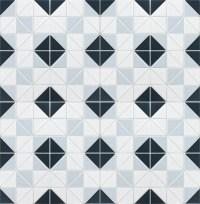 Blue Mountain Square 2'' Triangle Geometric Shape Tiles ...
