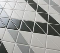 Chino Hill Ribbon 2'' Triangle Mosaic Geometric Wall Tiles ...