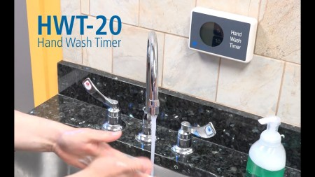 Using the Hand Wash Timer (HWT-20)