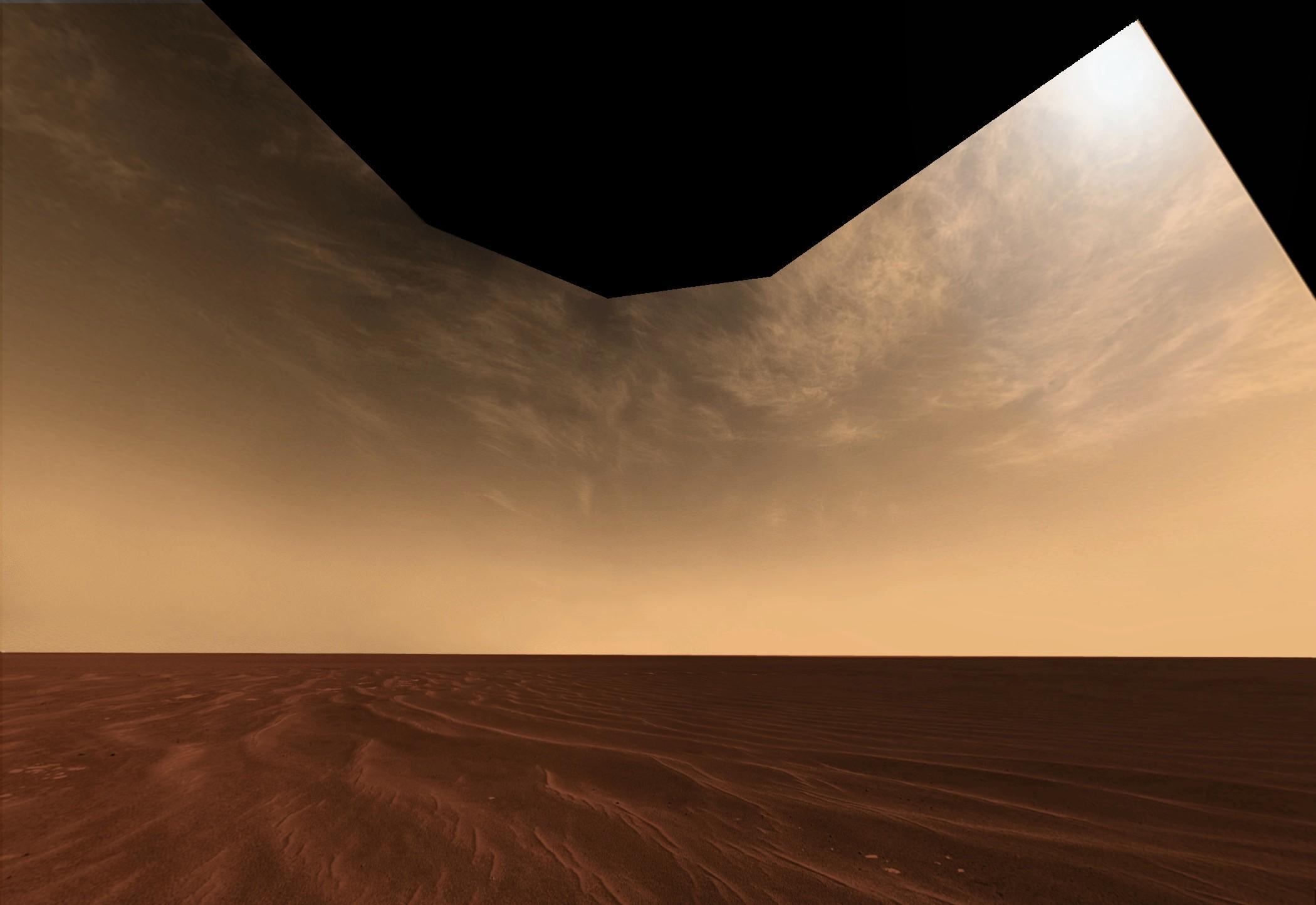 horizonte marciano