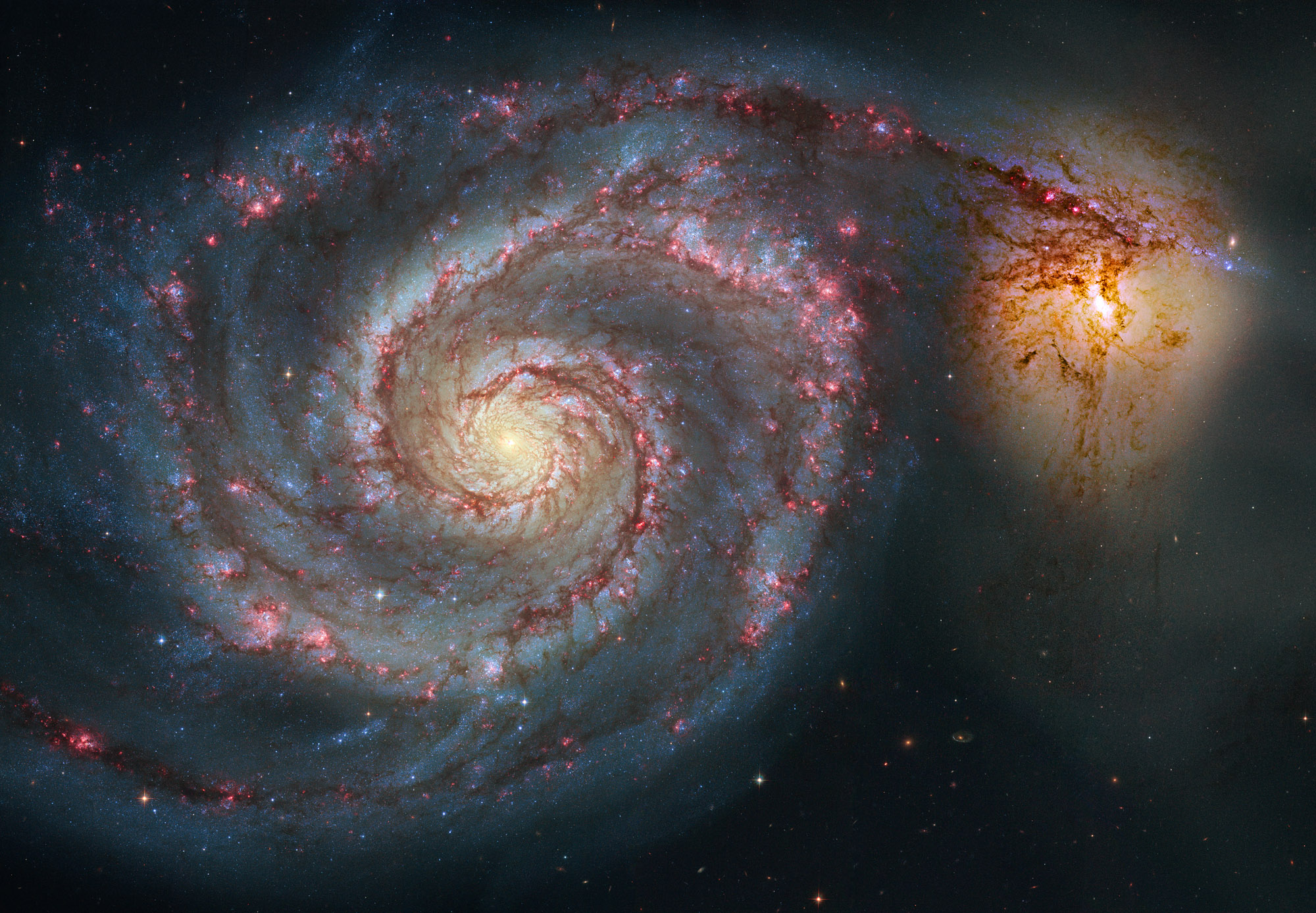 M51 Hubble Remix