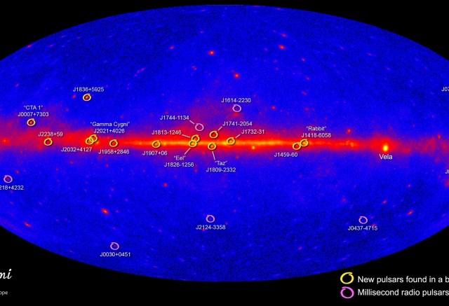 Fermi pulsars