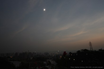 Eclipse na China