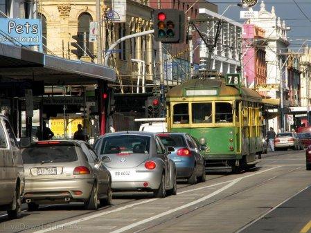 tramwaj klasy W na Chapel Street, Melbourne, Australia