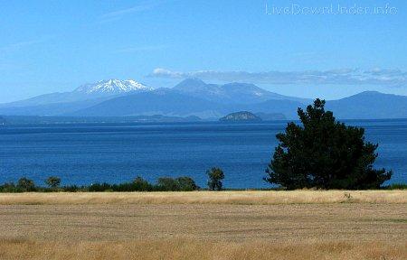 Jezioro Taupo, Nowa Zelandia