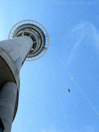 Wieża Sky Tower, Auckland, Nowa Zelandia