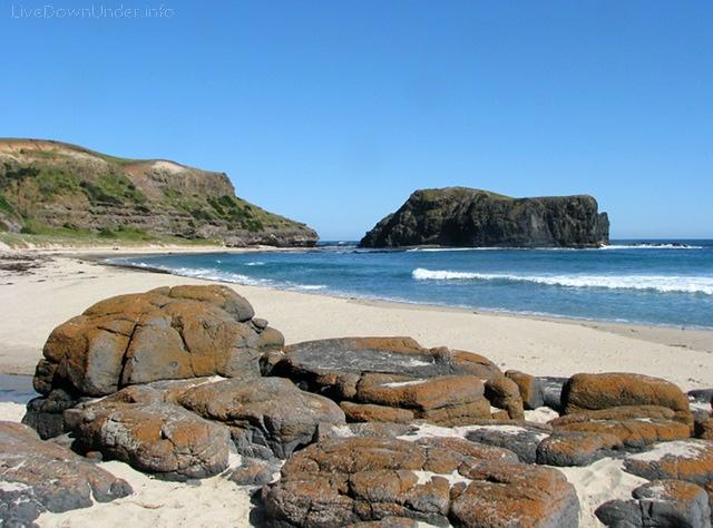 Bushrangers Bay Beach, Mornington Peninsula, Wiktoria, Australia